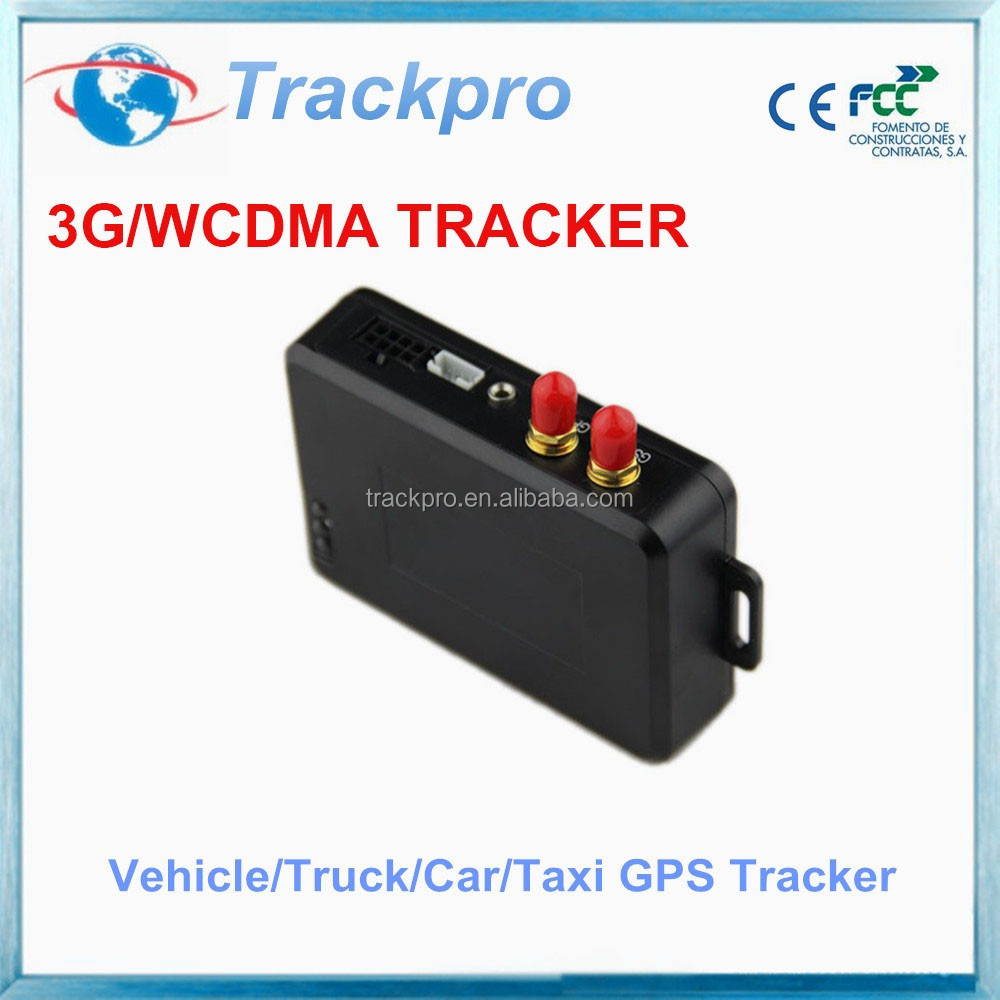 WCDMA easy install DC 12V accurate gps vehicle tracker 3G for car surveillance car gps tracking system