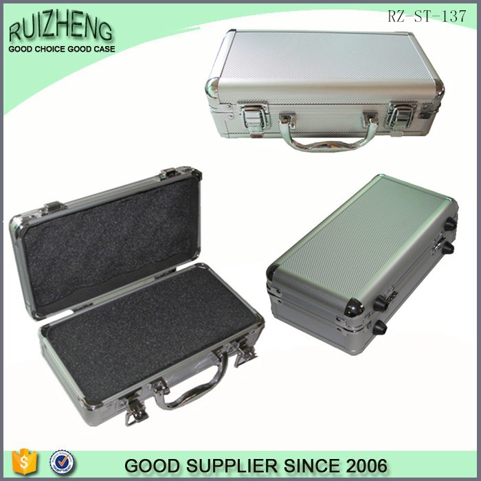 Professional custom aluminum case hard plastic carrying tool case