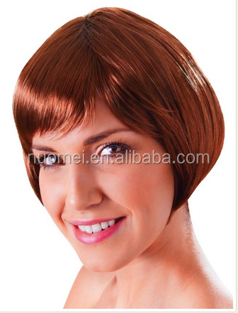 Newlook S0217 New Womens Girl cute cosplay wig Babe cosplay Wig for St Patrick's Day Party Fancy Dress Fun Accessory