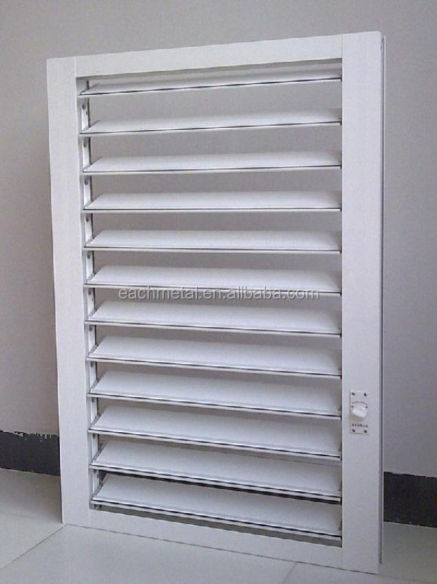 High Quality Aluminum Louver Rolling Security Shutters Buy Aluminium Louver