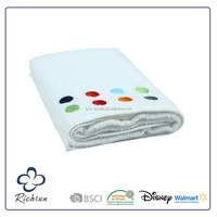 100% cotton white terry cloth hand towels wholesale