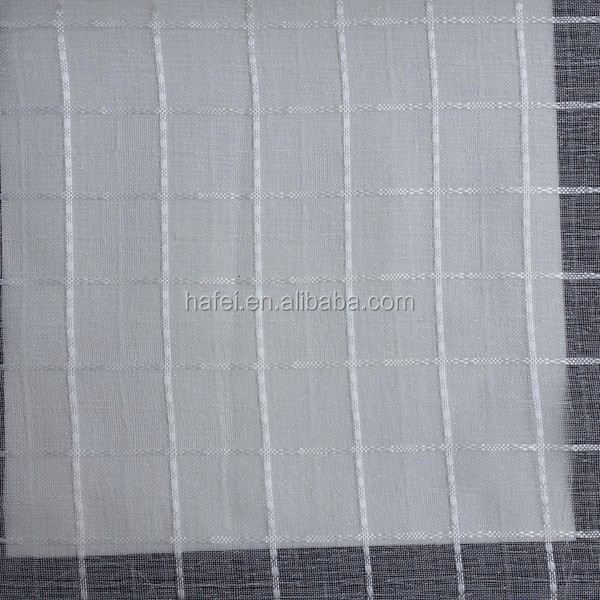 Hotel Luxury Voile Jacquard new design curtain for imperial house