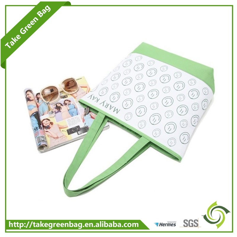 Hot Selling fashion reusable bag recyclable shopping cotton bag