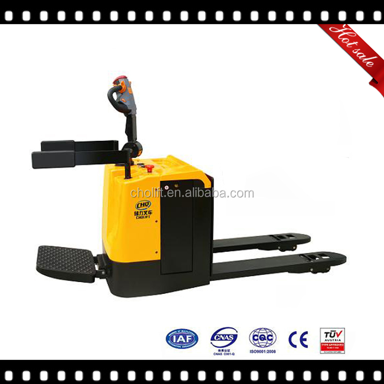 2000kg capacity, China hot sale Electric Pallet Truck with CE