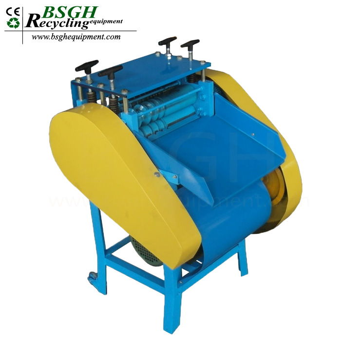 BS-KA professional manufactuer copper wire pulling machine electric cable peeling tolls wire stripping equipment