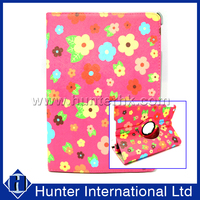 Floral Garden Rotating Tablet Case For iPad Air 2