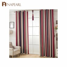 NAPEARL fashion design grommet bay window curtains on sale
