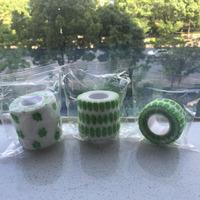 Green cute Portable strong self adhesive dog horse vet wrap bandage