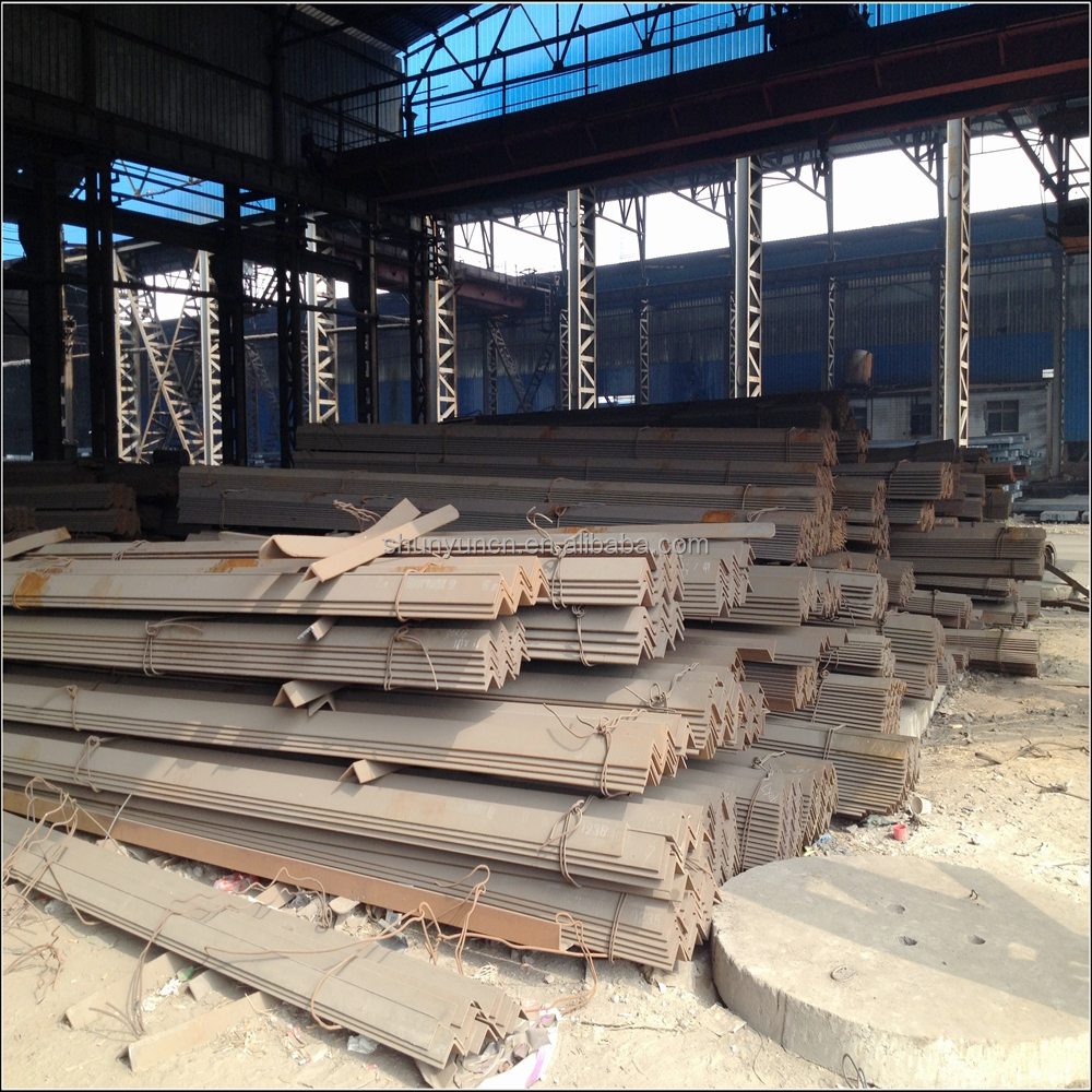 Construction structural mild steel Angle Iron / Equal Angle Steel / Steel Angle bar with grade A36 A572