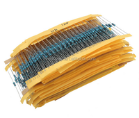 High Quality Lowest Price 1460 pcs Metal Film Resistor Kit Pack Mix Assortment 1/4W 1R to 1M 73 Values