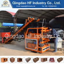 HF2-10 fully automatic interlocking clay brick making machine price in india