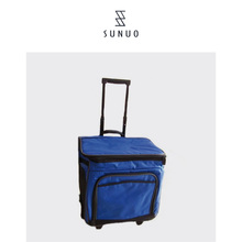 Classic Large Capacity Trolley Cooler Bag For Travel