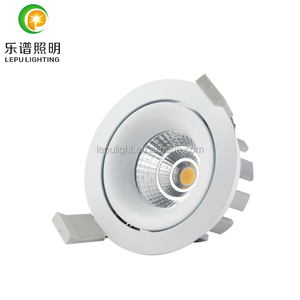 lens reflector 8w 13w commercial led cob downlight dimmable 0-100% classical model design for nordic market