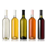 Eco-Friendly empty alcohol glass bottle with good price