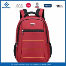 Custom Polyester Waterproof Multi Compartment Middle Adult School Book Bag