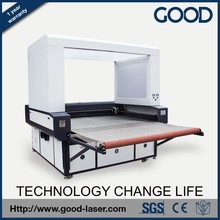 High efficiency auto-feeding and auto-positioning laser cutting machine for non-metal HF1612CCD