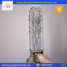 Led light bulb e27 Tube led lamp 110v 220v novelty fireworks bulb T30 starry sky holiday lights christmas
