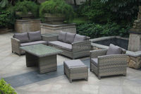 2015 wicker outdoor furniture Rattan corner sofa furniture /ratan garden furniture sectional sofa