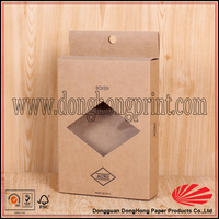 Wholesale high quality recycled cell phone case paper packaging box