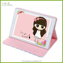 Wholesale cartoon leather flip stand tablet case for ipad air 2 cases