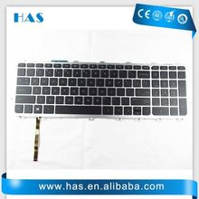 Hot selling Laptop keyboard for HP Envy 17 Envy 17-1000 Turkish Black silver frame backlit with low price