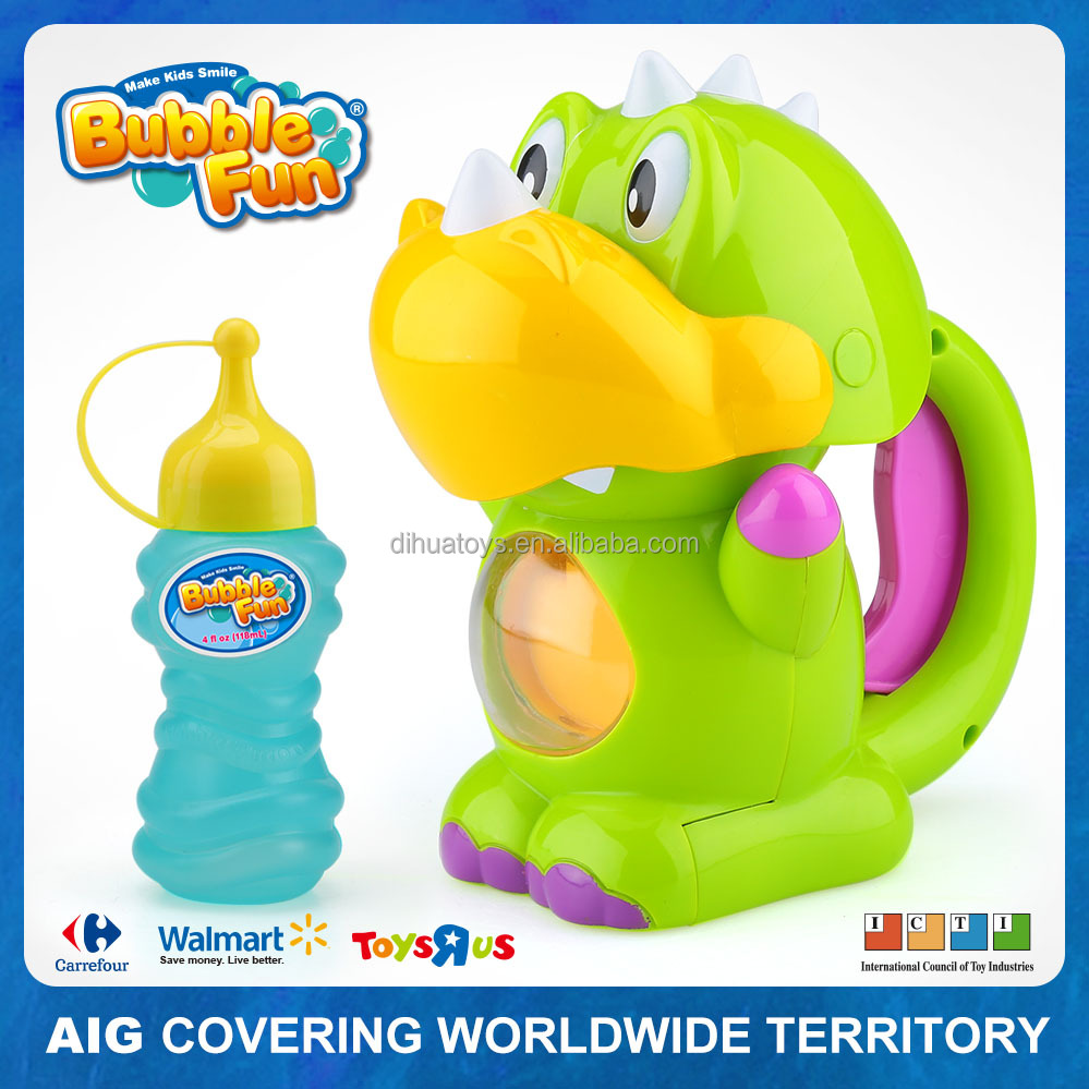 Bubble Dinosaur Bubble Machine Toy Soap Bubble Maker