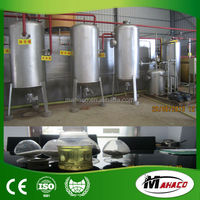 Most popular! 5-30TPD 85% output tyre pyrolysis oil distillation plant