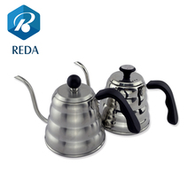 2017 trending gooseneck drip coffee kettle pot stainless steel pour over coffee kettle with thermometer