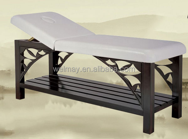 Portable massage table beauty salon facial beds massage for Beauty salon bed