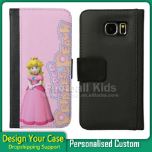 wholesale wallet custom case for samsung galaxy note 4, For Samsung Note 4 leather custom case, mobile phone accessory