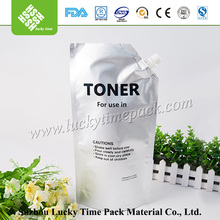 Plastic Metalized stand up pouch used for Toner packing