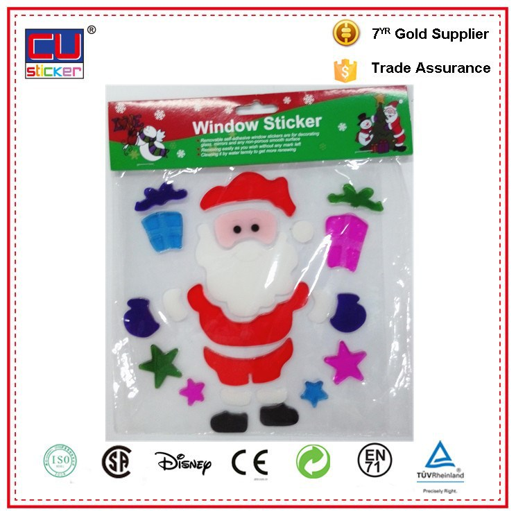 alibaba china snowflake window cling stickers christmas decoration