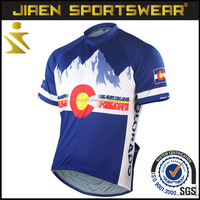 2016 New design top quality cycling jerseys for OEM philippine cycling jersey