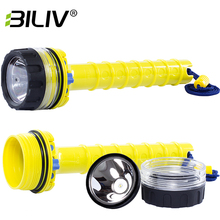 BILIV Scuba diving equipment toshiba diving powerful led flashlight high quality