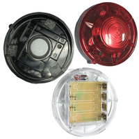 Button control LED ultrafire flashlight / beacon lighting / police warning lights