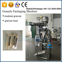 3 or 4 side seal Small Sachet 5g 10g 20g granule Automatic Sugar Packing Machine