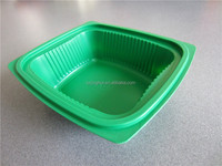Disposable plastic food container restaurant