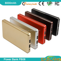 portable external wallet mobile power bank /mobile phone cha ,power bank slim with reserved co,universal power bank for samsung,