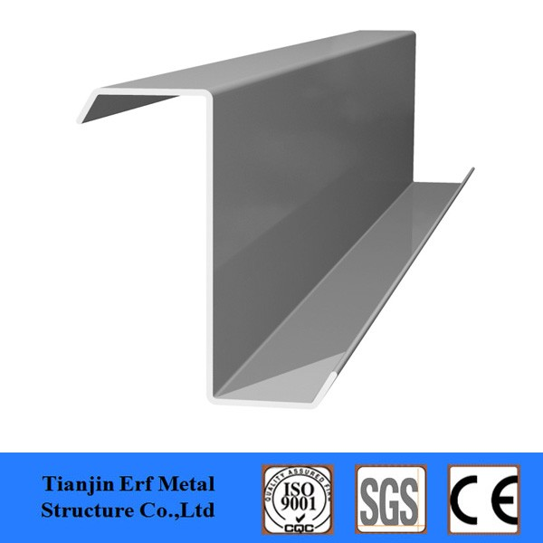 Building materials galvanized z steel purlin for light structure steel channel
