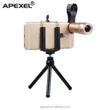APL-HS10X high quality professional HD 10x zoom telescope lens universal clip on phone zoom lens