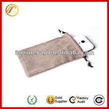eyeglasses cleaning pouch of mobile phone