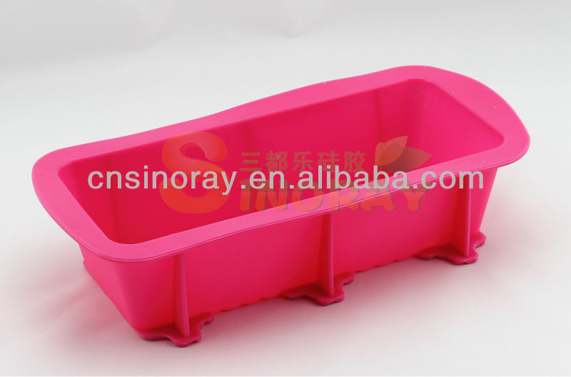 Super Heat Resistant silicon loaf pan - Extremely Flexible & Durable Silicone Loaf Mold Silicone Bread Mold for Fast Baking