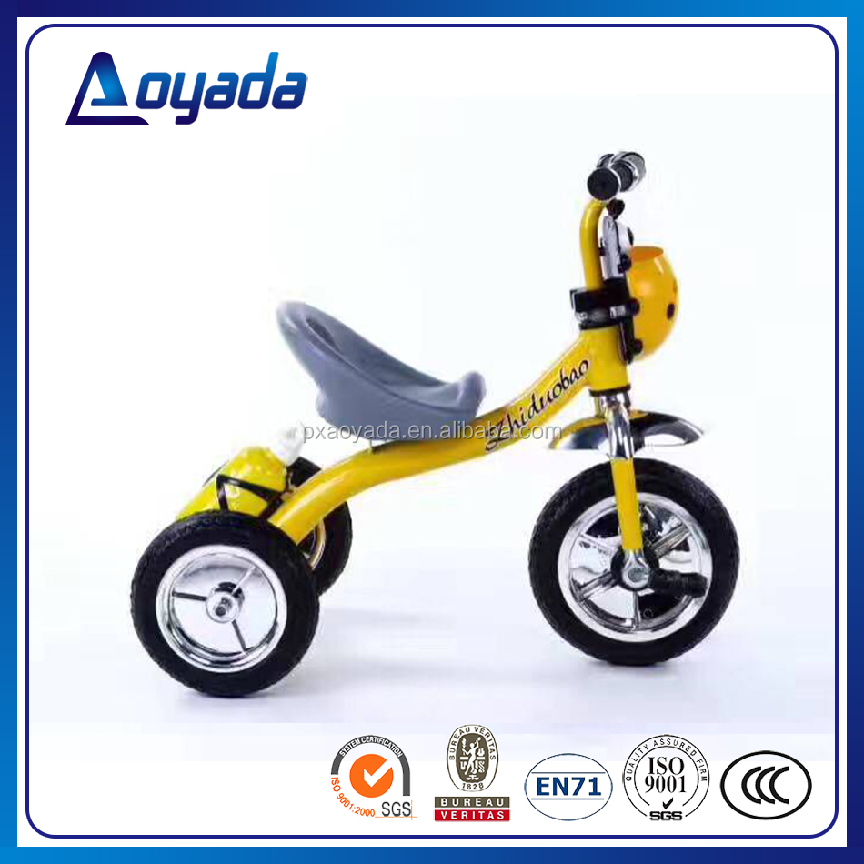 Kids tricycle tricycle kids / child trike child tricycle with air wheel / pedal car foot power wholesale