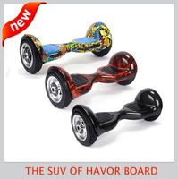HOT!10 inch adults off road electric scooter two wheel electric vehicle self balanced smart hover board