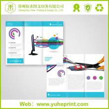 2015 alibaba trade assurance cheap printer matt lamination samples leaflet