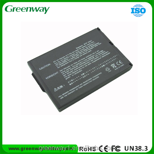 Replacement laptop battery for AC 34A1
