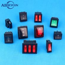 big current electrical waterproof rocker switch with high quality