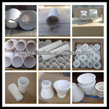 casting ceramic tube/bend/tee/pouring cup of Chinese manufacturer