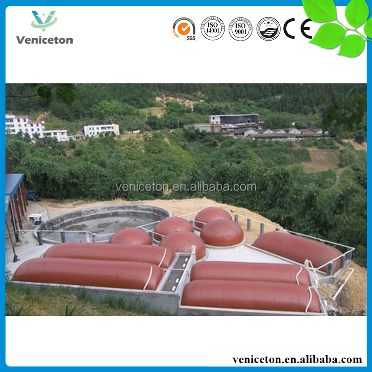 China Veniceton biogas cow methane storage tank generator