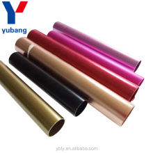 Polishing gold aluminum oxide aluminum pipe for christmas decoration